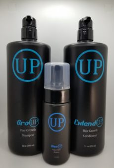 3 piece Up hair growth system