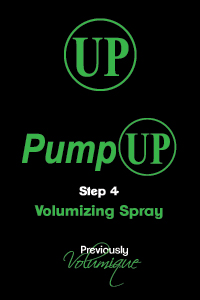 PumpUp Volumizing Spray Step 4