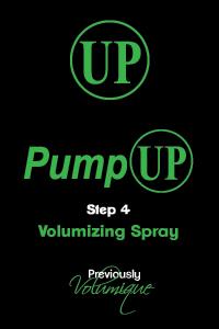 PumpUp Volumizing Spray Step 4
