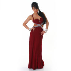 Stretch Satin  Sweetheart Train Evening Dress Inspired By Blake Lively