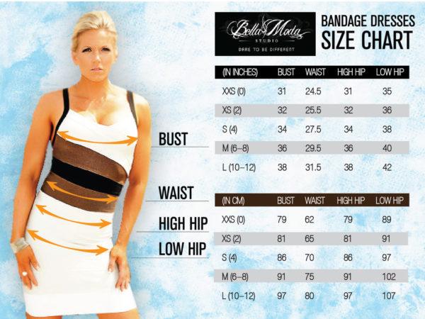 SMALL - Cream Celebrity Style Lace Up Sides Bandage Dress -LAST ONE