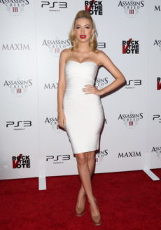 White Solid Strapless Celeb Inspired Bandage Dress