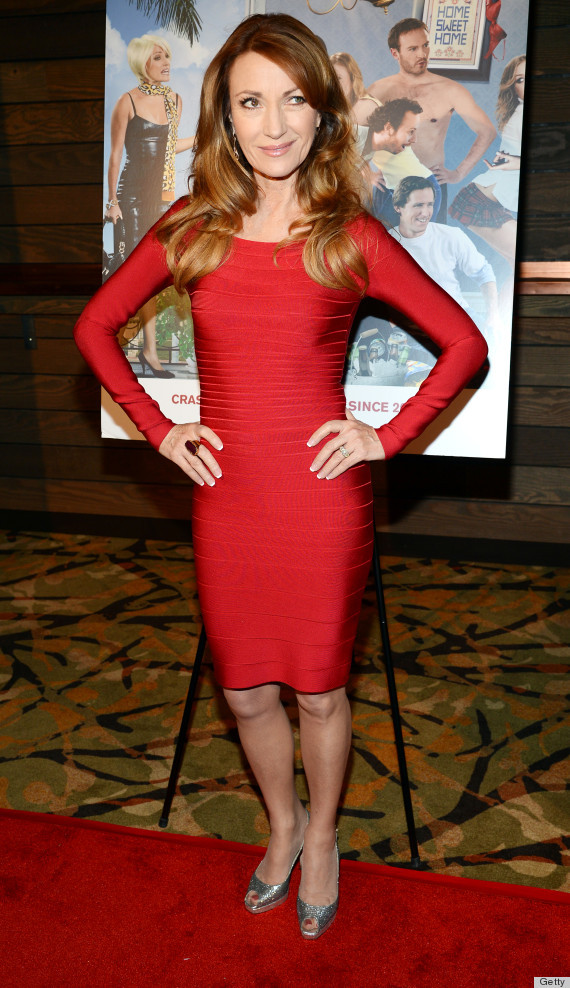 Red Off the Shoulder Long Sleeve Celeb Inspired Bandage Dress
