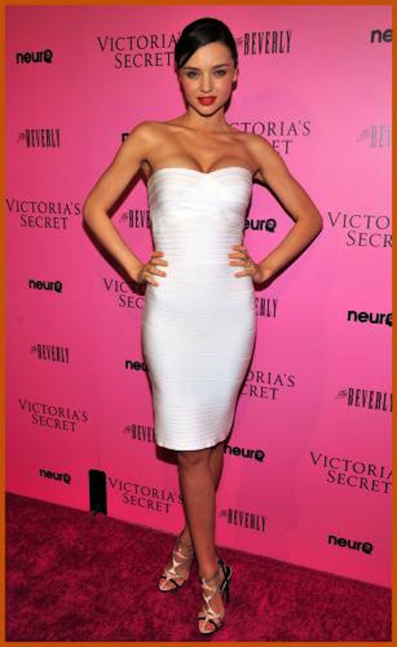 White Classy Strapless Midi Celeb Inspired Bandage Dress