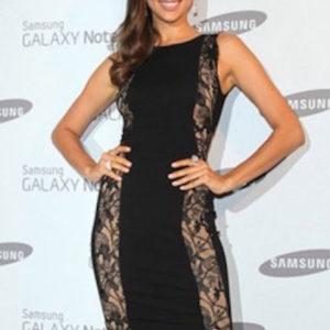 LARGE - Black Lace Backless Cocktail Celeb Inspired Bandage Dress -LAST ONE