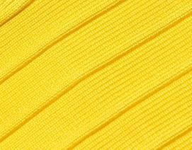 Yellow Classic Strapless Cross Bust Mini Bandage Dress