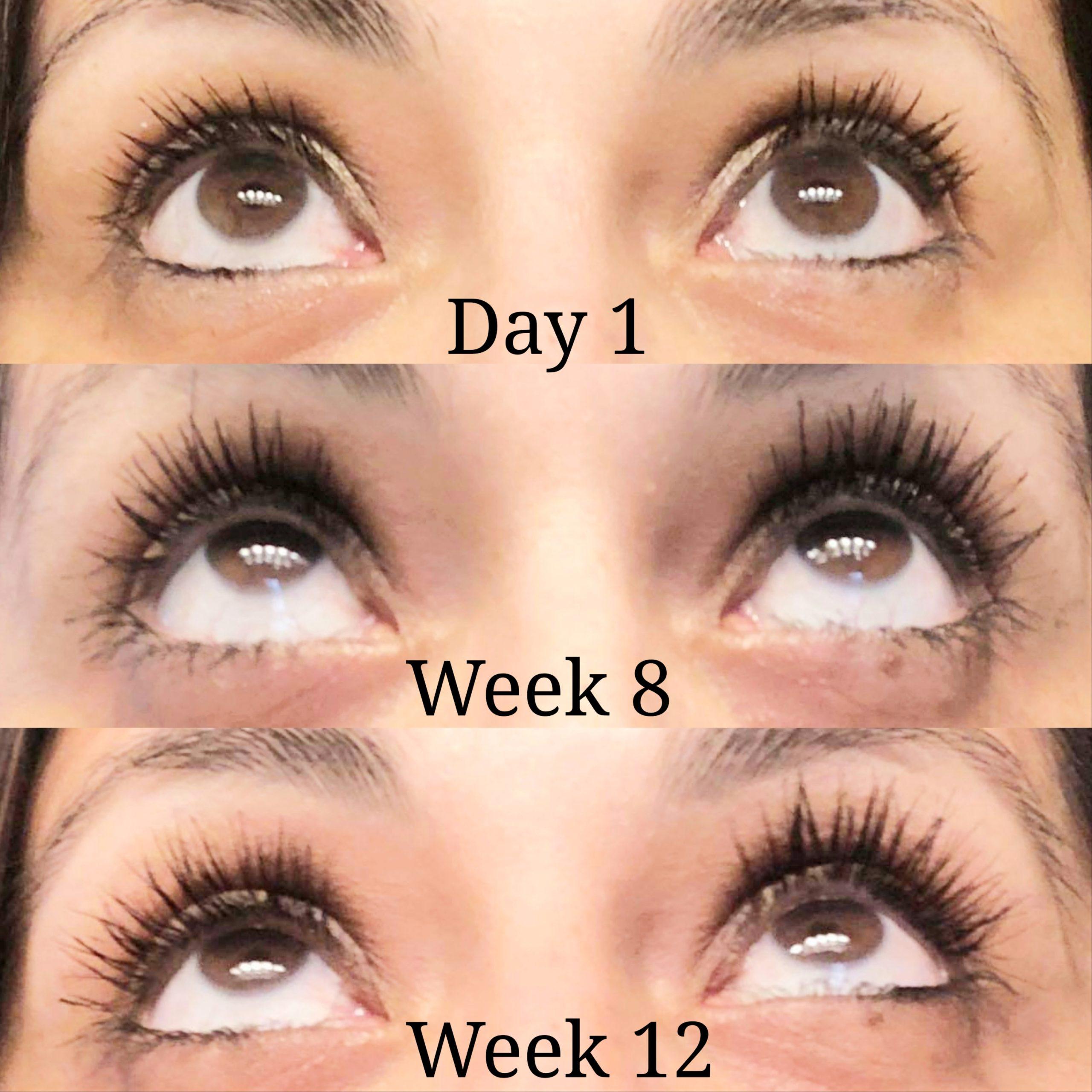 Bella Lashes Eyelash & Brow Growth Enhancing Serum results