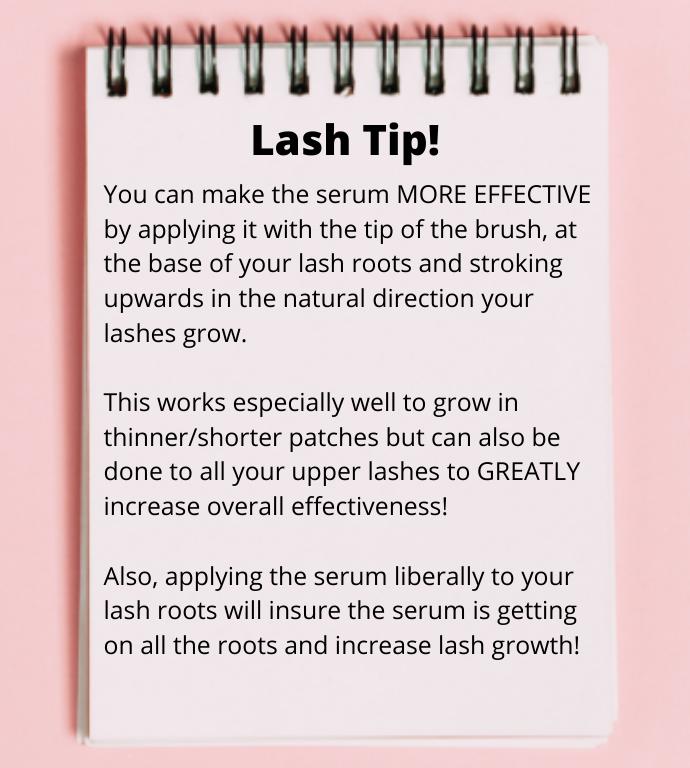Lash Tip-Bella Lashes - Eyelash and Brow Growth Enhancing Serum