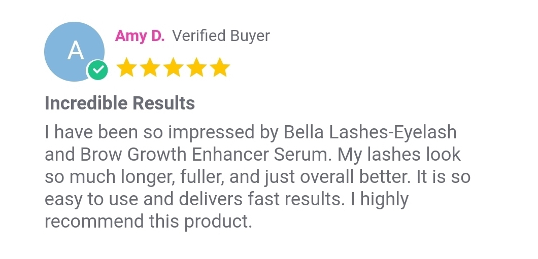 Amy D Customer Review